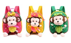 The Fruit Monkey Backpacks
