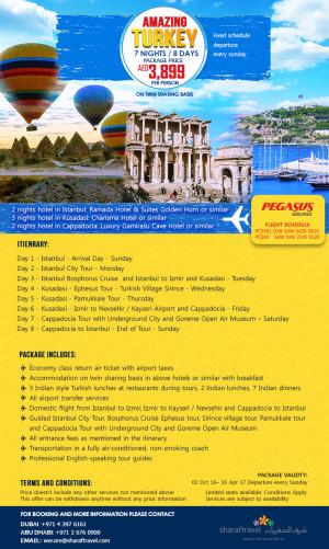 Amazing Turkey Package Tour