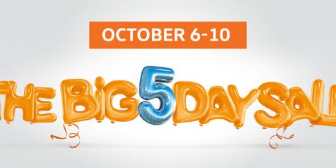 Volkswagen BIG 5 Day Sale Promo