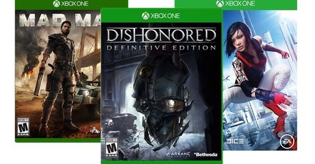 XBox Action and Adventure Games