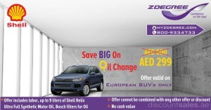 ZDegree Oil Change Offer