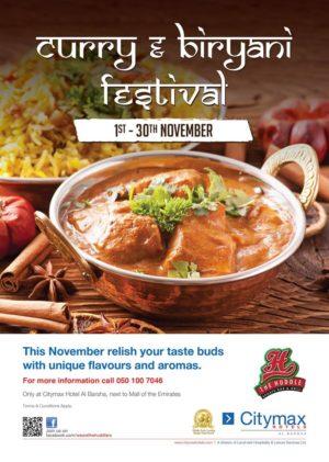 Curry & Biryani Festival