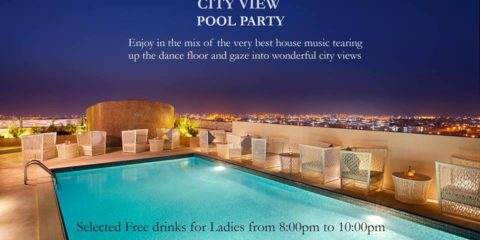 DoubleTree Pool Party