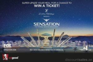 Win FREE Sensation Ticket