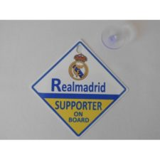Real Madrid Supporter on Board