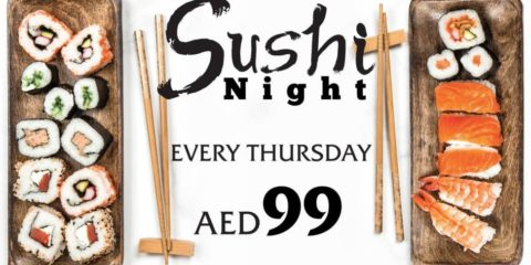 Thursday Sushi Night