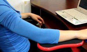 Attachable Table Armrest