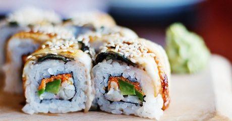 Choice of Sushi Platter