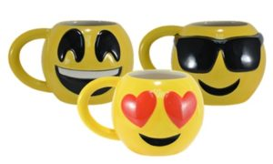 Four-Pack of Emoji Mugs