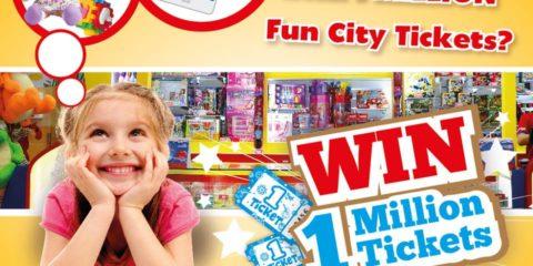 Win 1 Million Fun City Ticket Promo