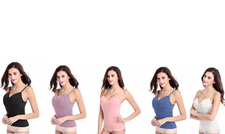 3-Pack Seamless Padded Camisole