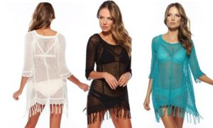 Knit Bikini Cover-Up