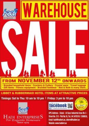 Hadi Enterprises Warehouse SALE