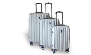 Hard-Case 3-Pc Trolley Set