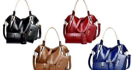 Four-Piece Hobo Bag Set