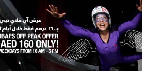 iFly Dubai Off Peak Offers