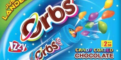 Izzy Orbs Chocolate