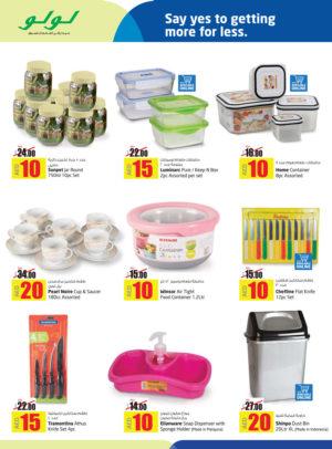 Assorted Kitchenwares