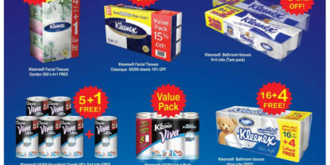 New Kleenex Tissues Special Offer
