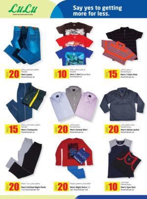 Assorted Menswear