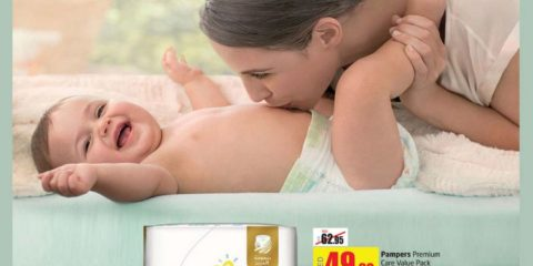 New Pampers Diaper