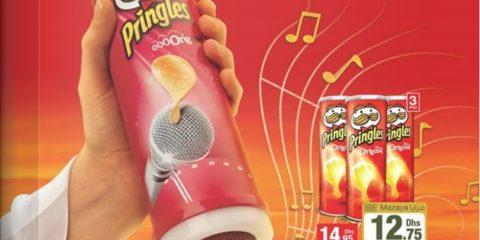 Pringles Karaoke Kit Promo