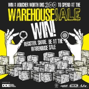 Rage Warehouse Sale Voucher
