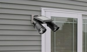 Solar-Powered Security LED Lights