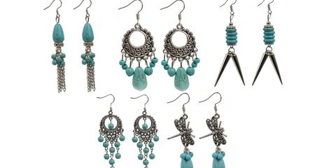 Tibetian Style Drop Earrings