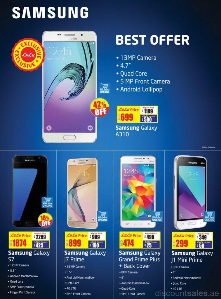 Samsung Best Deals At Lulu Discountsales Ae Discount
