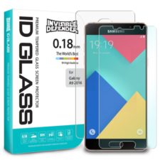 Rearth 0.18mm Invisible Defender 9H Tempered Glass Screen Protector for Samsung Galaxy A9 2016