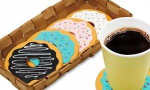 Doughnut Table Coasters