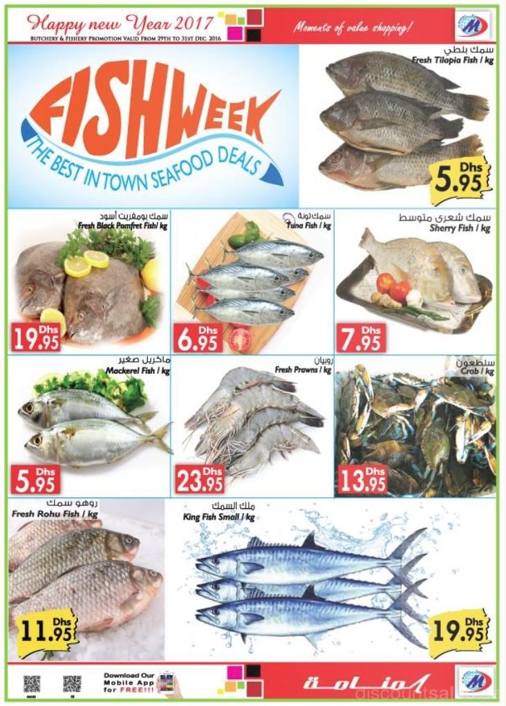 Fish Week Sale