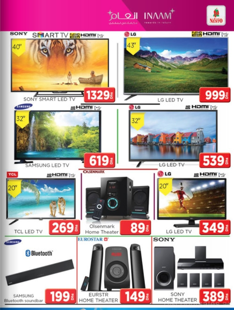 Home Appliances Discount Offer