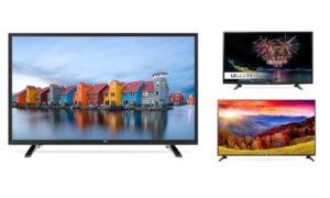 LG HD LED TV 32'' 43'' or 49''