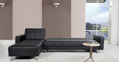 Sleeper Reversible Sectional Sofa
