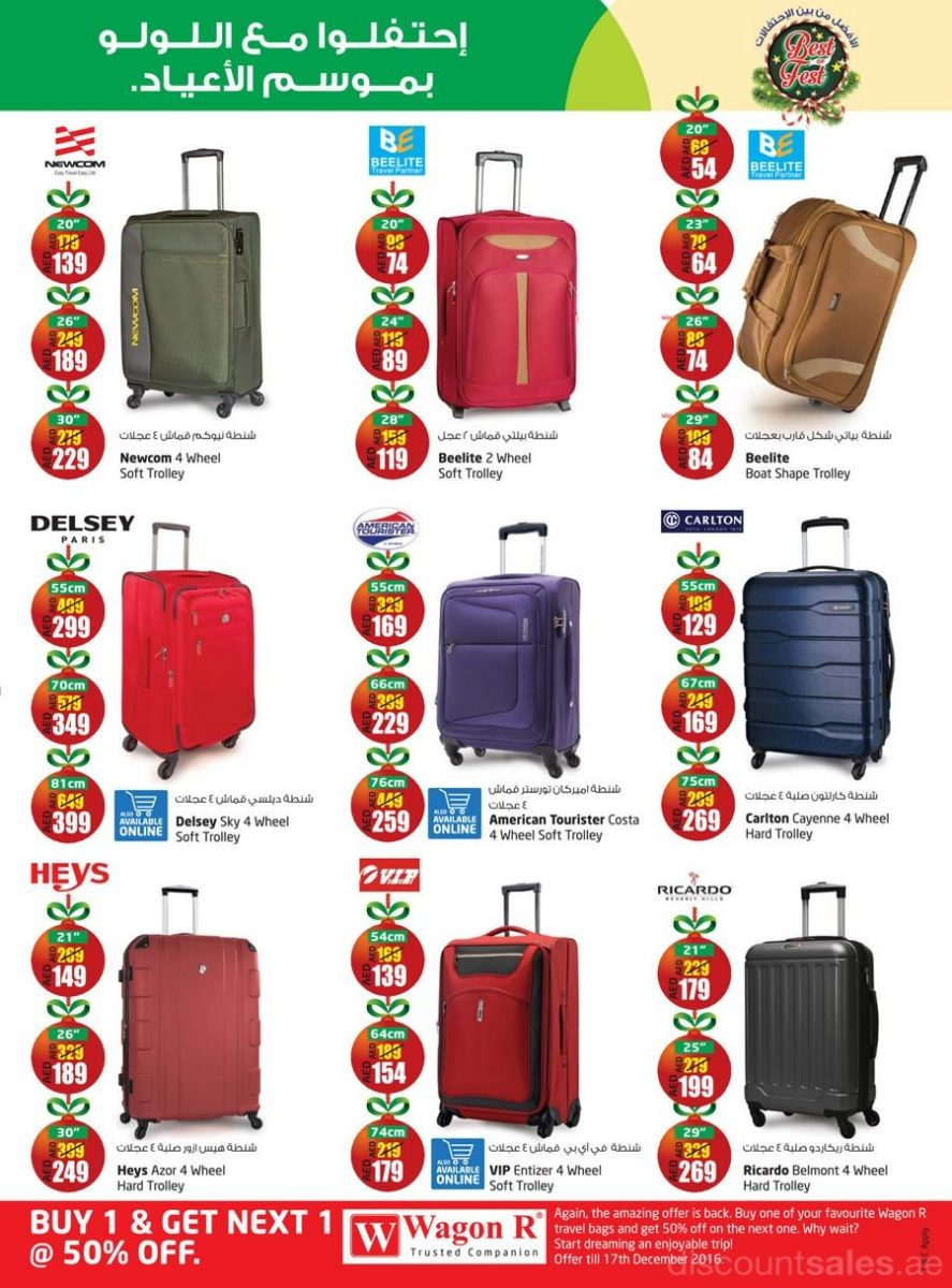 Travel Bags On sale @ Lulu - DiscountSales.ae - Discount Sales ...