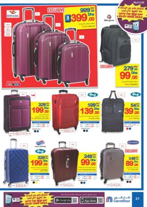 Assorted Designed Travel Bags