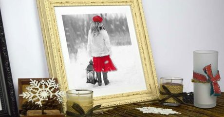Customised Christmas Photo Print
