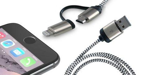2-in-1 Aluminium Cable
