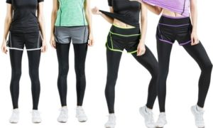 2-in-1 Workout Leggings