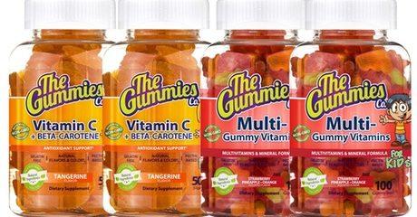 2-pack Gummies Vitamins