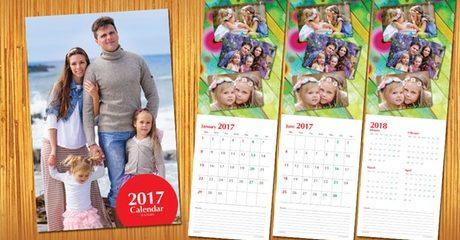 2017 Personalised Calendar