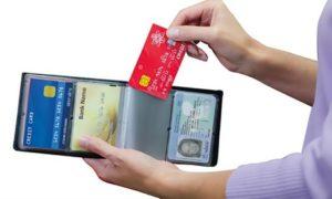24-Slot Credit Card Wallet