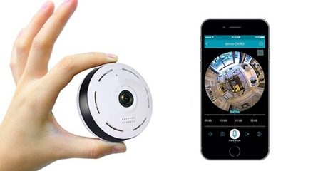 360° Wi-Fi Panoramic IP Surveillance Camera
