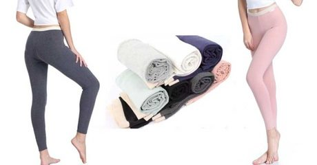 4-Pack Soft Stretchy Leggings