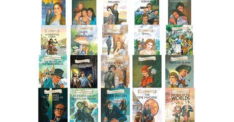5 Hardback Classic Novels