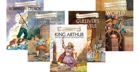 5-pack Hardback Classic Novels