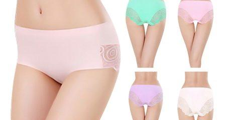 5-pack lace trim underwear set
