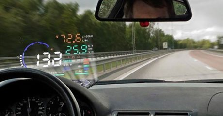 "5.5"" OBD II Car Head Up Display"